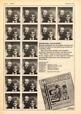 Hudson Ford Nickelodeon UK Tour advert 1973