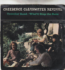 "Single 7"" Creedence Clearwater Revival ""Travelin´Band"""