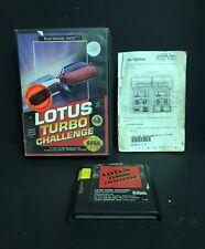 Lotus Turbo Challenge (Sega Genesis, 1992) Complete
