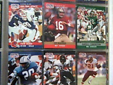 1991 PRO BOWL PRO SET COMPLETE SET FOOTBALL BINDER AND 5 ERRORS FACTORY SEALED