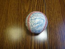 1989 Chicago Cubs Signed Auto ONL Baseball PSA/DNA Certified With 25 Autographs
