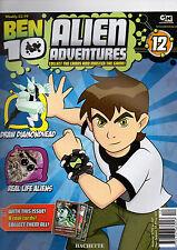 BEN 10 ALIEN ADVENTURES MAGAZINE--2009  ISSUE 12# HATCHETTE