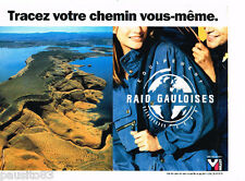 PUBLICITE ADVERTISING 085  1995  RAID GAULOISES  équipement sport