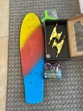 "Penny Nickel 27"" Original Sunset Fade With Shark Wheels New Free Skate Tool"