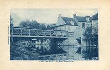 Carte CRECY EN BRIE Le Pont Dame Gilles