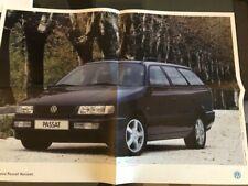 VW Passat Variant GT B4 3A 35i Poster Katalog Prospekt Brochure 1993 16V VR6 GL