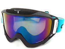 CEBE LEGEND L lunettes de ski neige MATTE NOIR-BLEU BLOC/BLUE Mirror Cat.3 CBG45