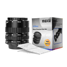 Nouveau Meike mk-n-af-une mise au point automatique af tube d'extension macro pour appareil photo Nikon dslr