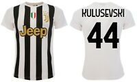 Maglia Kulusevski Juventus 2021 Juve ufficiale Home Dejan 44 bianconera 2020