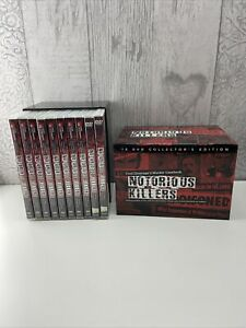 Notorious Killers Fred Dineage's Murder Casebook 10 DVD Boxset Complete