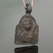 MEDIEVAL BRONZE ICON PENDANT - CIRCA - 12th/13th CENTURY AD     (482)