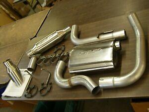 NOS OEM SLP 2012 Chevrolet Sonic Exhaust System 1.8L Tip Muffler Hangers Kit +++