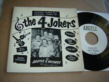 The 4 Jokers - Souvenir Album No 1 2 x 7 inch records private lounge rockabilly