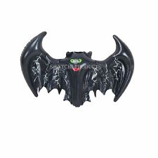 3 Halloween Inflatable Bat Decorations Prop Hanging Garden Childrens Party Toy