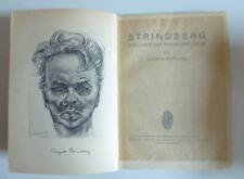 Ludwig Marcuse – Strindberg – Das Leber der Tragischen Seele, Erstausgabe.