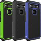 Fit Verizon TCL 10 5G UW Phone Case + Screen Protector Hybrid Slim Hard Cover