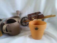 4 pcs Nwt! Boyds Bears Garden Accessories Home Decor 4 items adorable items
