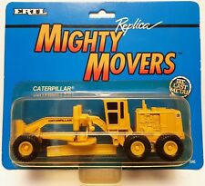 1:64 Scale ERTL Mighty Movers 1846 Caterpillar Motor Grader - MIP