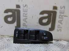 TOYOTA AVENSIS T SPIRIT 2.0L PETROL 2005 DRIVER SIDE FRONT WINDOW SWITCH