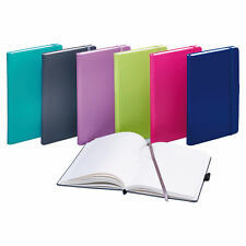 Notizbuch DIN A5 kariert versch. Farben Taschenbuch Tagebuch Kladde Memobuch