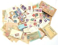 Vintage Mixed Unsearch Unsorted Unknown LOT of Domestic & Foreign Postage Stamps