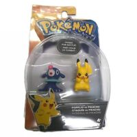 TOMY Pokémon Popplio vs Pikachu Posed for Battle Action Figures Toys NEW