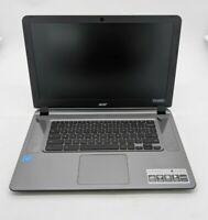 Open Box Acer Chromebook 15 CB3-532-G47C Intel Celeron 2GB Ram 16GB eMMC SH0289