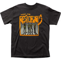 The Residents Meet The Residents T Shirt Mens Licensed Rock N Roll Retro Black