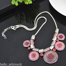 Boho Halskette Halsschmuck Collier Statementkette Anhänger Modeschmuck Schmuck