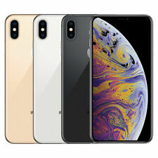 Apple iPhone XS Max | 64GB 256GB 512GB | GSM Desbloqueado de fábrica-Mobile AT&T T