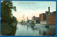 Middle Canal, Holyoke, Massachusetts - Early Postcard 1912