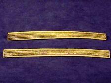 Original Pair of U.S. CAVALRY LEMON YELLOW GOLD BULLION SERVICE STRIPES