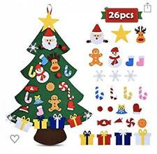 DIY Felt Christmas Tree & Ornaments Wall Or Door Hanging Home Decor Kids Create