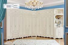 Penderie XXL Grand Villa Armoire Vestiaire Classique Rustique Authentique Bois
