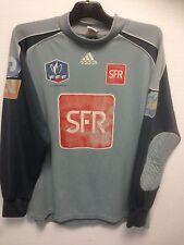 Maillot de football porté Coupe de France shirt matchworn gardien Vintage C10
