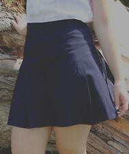 Girls Size 16 School stretchy Mini skirt School uniform Colour Black