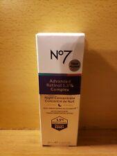 No7 Advanced Retinol 1.5% Complex Night Concentrate 30 mL/1 Fl Oz