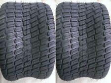 2 - 24x12.00-12 6 Ply HEAVY DUTY Deestone D838 Turf Master Lawn Mower Tires PAIR