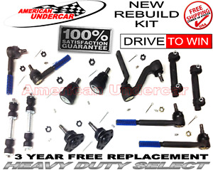 HD Ball Joint Tie Rod Idler Arm Kit for Buick Chevy Olds Pontiac 1971 - 1972
