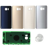 For Samsung Galaxy Note 5 N920 Battery Cover Glass Housing Back Door Rear Panel