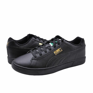 Men's Shoes PUMA MATCH STAR Lace Up Sneakers 38020403 BLACK / GOLD
