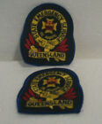 PAIR OF Queensland State Emergency Service Fire EMS Australia Patchs