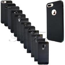 Étuis, housses et coques en fibre de carbone pour téléphone mobile et assistant personnel (PDA) Apple à motifs
