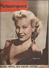 PICTUREGOER MAGAZINE DEC 17 1949 - VIRGINIA MAYO - MARGARET LOCKWOOD - TOOTS