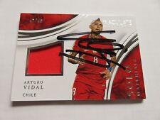 Vidal Arturo -- signiert signed auto -- Panini Immaculate SOLO Bayern / Chile
