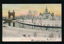 USA Connecticut HARTFORD Capitol & Arch u/b 1906 PPC