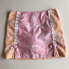 Ladies Lilly Pulitzer pink & orange jubilee skirt skort size 0