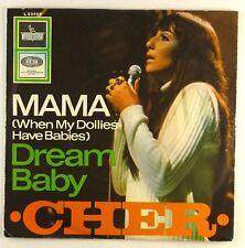 "7"" Single - Cher - Mama (When My Dollies Have Babies) - S1313 - RAR"