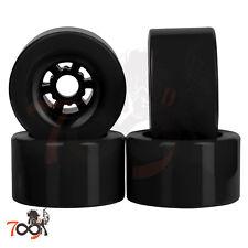 Cal 7 Pro 83mm 78A Cruiser Skateboard Wheels, Longboard Flywheel Black (4pcs)