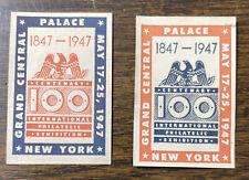 International Philatelic Exhibition 1947 Labels